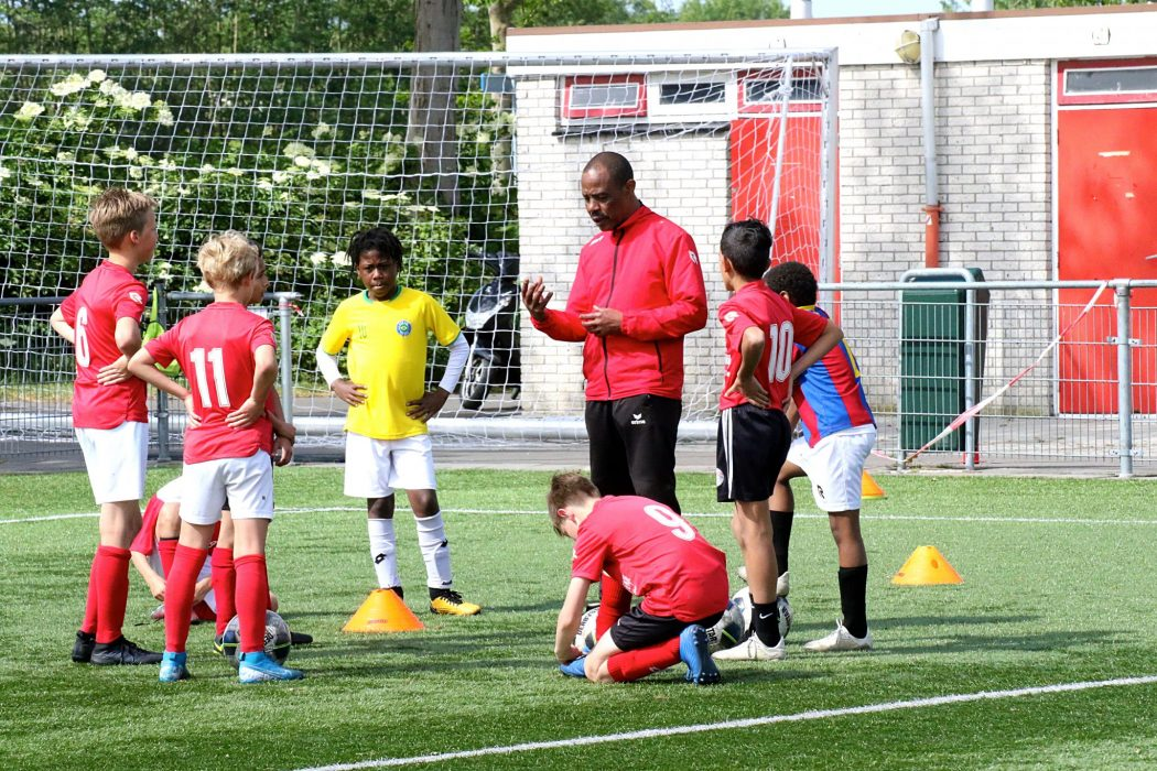 De eerste selectie training jeugd vv GOES een groot succes!