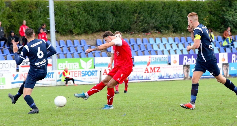 Goes 1 (zon) - Sportlust '46 1 (Beker KNVB 1e ronde 29-08-2020)